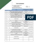 Plan Calendario Ing.electrica