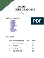 Basic Maltese Grammar