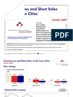 Twin Cities Foreclosures & Short Sales Ocotober 2009
