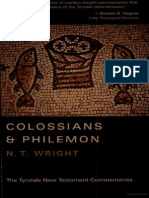 Colossians Commentary - N.T. Wright