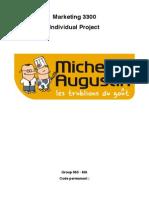Michel Et Augustin MarketingAnalysis