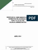 Verificar El Cumplimiento Normativa Oci Abril 2014
