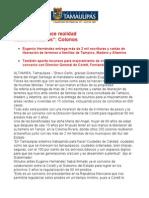 com0237, 080705 Eugenio Hernández entrega escrituras a familias de Tampico, Madero y Altamira.