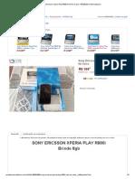 Sony Ericsson Xperia Play R800i Novo Na Caixa - R$ 300,00 no MercadoLivre.pdf