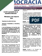 Barómetro Legislativo Diario del jueves, 15 de mayo de 2014.pdf