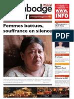 Femmes battues, souffrance en silence