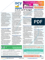 Pharmacy Daily for Fri 16 May 2014 - 'Tax it or cut it' budget, Free scripts for NZ kids, New PSA elections, MA on Future Fund and much more