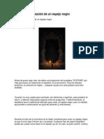 Creación y Utilización de Un Espejo Negro