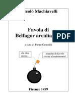 03 MACHIAVELLI Belfagor in Italiano