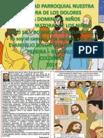 HOJITA EVANGELIO  V DOMINGO DE PASCUA CICLO A COLOR