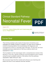 Neonatal Fever Learning Module v1.1