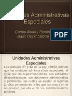 Unidades Administrativas Especiales