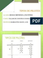 Tipos de Pilotes