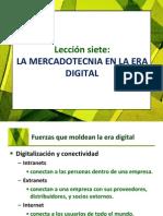 Lección 7 La Mercadotecnia en La Era Digital
