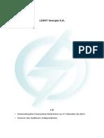 ITR 1? Trimestre 2014 Light Energia