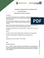 Decreto 2428 Estatuto Del Regimen Juridico Administrativo de La Funcion Ejecutiva ERJAFE