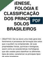 2_aula - Genese Morfologia e Classificacao Dos Principais Solos Brasileiros