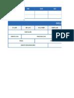 TRF - 2014 - Planilha de Estudos