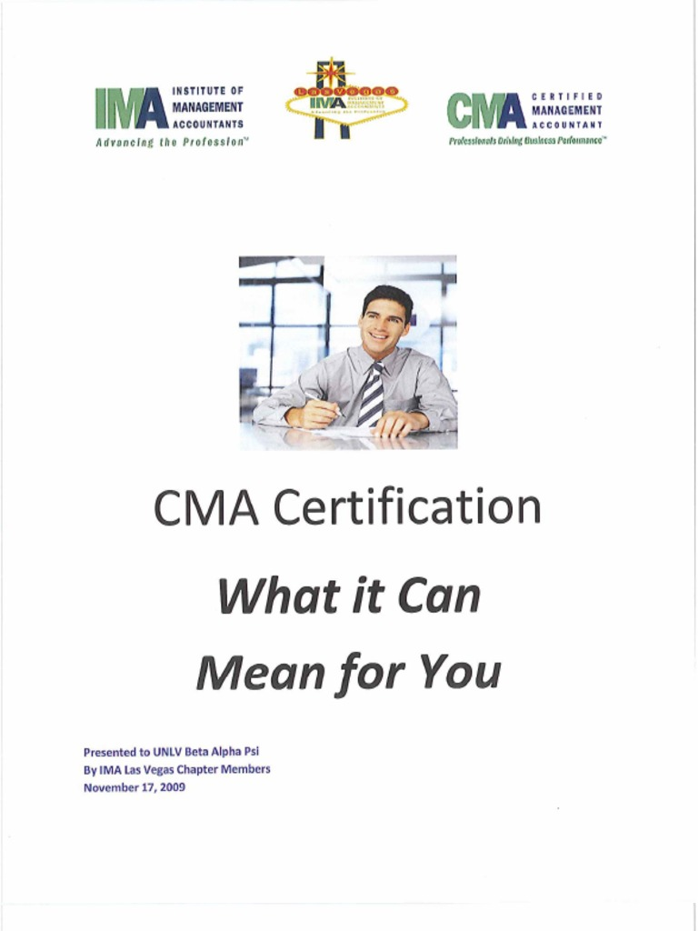 Cma certification what it can mean for you 1betcityfo Image collections