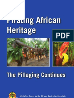 African Center for Biosafety 09 - Pirating African Heritage