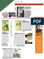 Nuestros libros en los medios