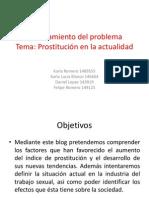 Planteamiento Del Problema Prostitucion