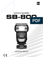 NIKON SB-800 AF Speed Light Manual