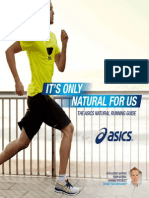 The Asics Natural Running Guide