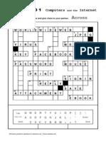 8 Esl Topics Crossword Computers