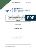 OIF-SPI4-2.01