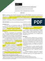 erros_inatos de metabolismo uma revis+úo de literatura