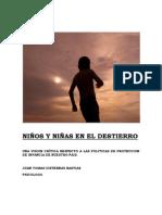 Niños en El Destierro Una Critica Al Sistema de Proteccion de Infancia