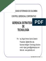 Ing-Miguel Garcia- Gerencia Estrategica Tecnologia