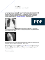 Pulmonary Hypertension Imaging