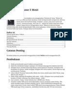 Tutorial Shell Dasar 5 Menit Revisi 1