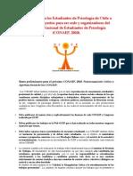 Convocatoria Congreso Nacional de Estudiantes de Psicología (CONAEP 2010)