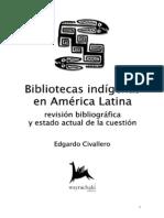 BibliotecasindígenasenAméricaLatina-revisiónbibliográficayestadoactualdelacuestión