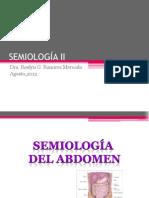 1 - Semiologia II - Semiologia Do Abdomen (14.08.2012)