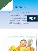 Gizi Seimbang Bayi Balita