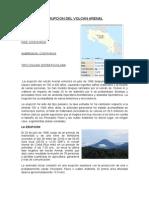 Erupcion Del Volcan Arenal