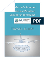 Travel Guide international student in Hiroshima