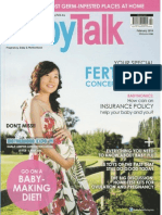 Welcoming the New Year with Courage & Hope - BabyTalk Feb 2014