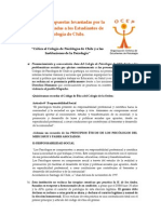 Síntesis Convocatoria Crítica OCEP 2009