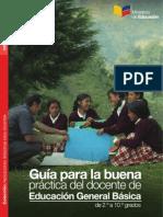 Guia Para La Buena Practica Del Docente de Educacion General Basica de 2 a 10 Grados (Docentes Ecuador)