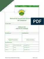 Manual de Usuario PM-038 Puestos de Trabajo