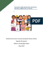 La Interculturalidad Como Definición Universal Aplicada en El Ámbito de La Salud