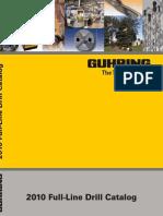 GUHRING Catalog FullLineDrills