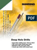 GUHRING Deep Hole Drills