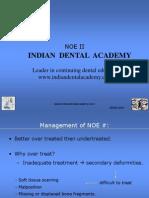 Noe Part 2 Abhijit Joshi (NXPowerLite) / orthodontic courses by Indian dental academy