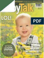 A month of tests - BabyTalk Mar 2014